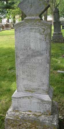 HATZENBUEHLER, CATHERINE - Lancaster County, Nebraska | CATHERINE HATZENBUEHLER - Nebraska Gravestone Photos