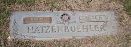 HATZENBUEHLER, HENRY - Lancaster County, Nebraska   HENRY HATZENBUEHLER - Nebraska Gravestone Photos