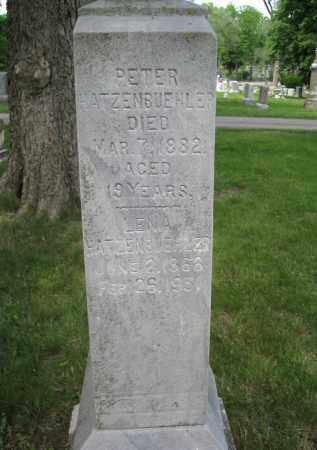 HATZENBUEHLER, PETER - Lancaster County, Nebraska | PETER HATZENBUEHLER - Nebraska Gravestone Photos