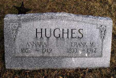 HUGHES, FRANK M - Lancaster County, Nebraska | FRANK M HUGHES - Nebraska Gravestone Photos