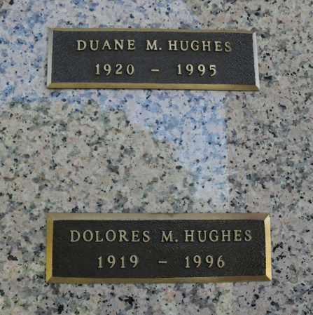 HUGHES, DELORES M - Lancaster County, Nebraska | DELORES M HUGHES - Nebraska Gravestone Photos