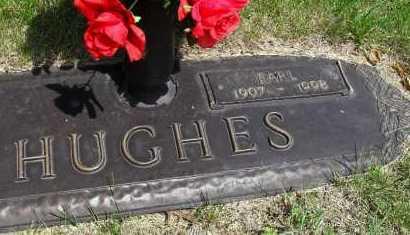 HUGHES, EARL - Lancaster County, Nebraska   EARL HUGHES - Nebraska Gravestone Photos