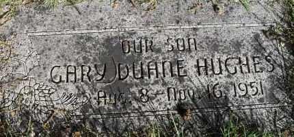 HUGHES, GARY DUANE - Lancaster County, Nebraska | GARY DUANE HUGHES - Nebraska Gravestone Photos