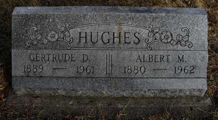 HUGHES, GERTRUDE D - Lancaster County, Nebraska | GERTRUDE D HUGHES - Nebraska Gravestone Photos
