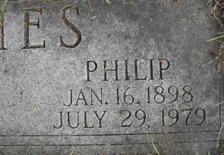 HUGHES, PHILIP - Lancaster County, Nebraska   PHILIP HUGHES - Nebraska Gravestone Photos