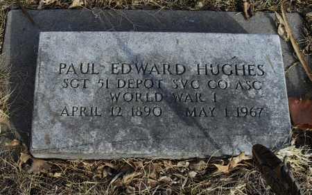 HUGHES, PAUL EDWARD - Lancaster County, Nebraska   PAUL EDWARD HUGHES - Nebraska Gravestone Photos