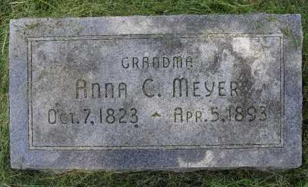 MEYER, ANNA C, - Lancaster County, Nebraska | ANNA C, MEYER - Nebraska Gravestone Photos