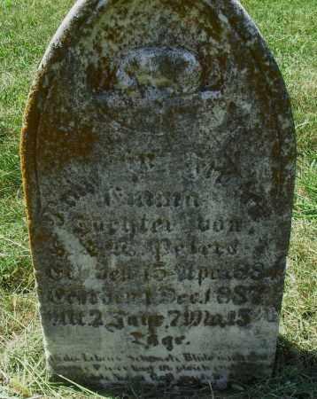 PETERS, DIANNA - Lancaster County, Nebraska | DIANNA PETERS - Nebraska Gravestone Photos