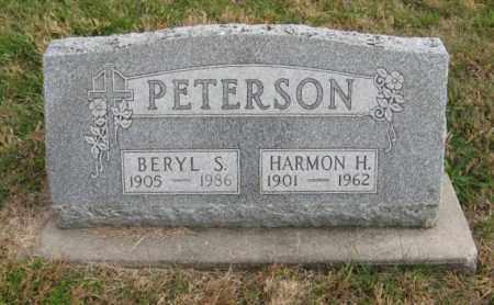 PETERSON, HARMON H. - Lancaster County, Nebraska | HARMON H. PETERSON - Nebraska Gravestone Photos