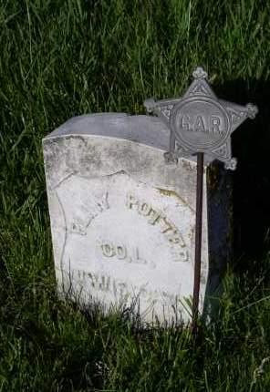 POTTER, PLINY - Lancaster County, Nebraska   PLINY POTTER - Nebraska Gravestone Photos