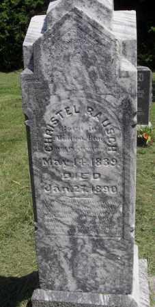 RAUSCH, CHRISTEL - Lancaster County, Nebraska | CHRISTEL RAUSCH - Nebraska Gravestone Photos