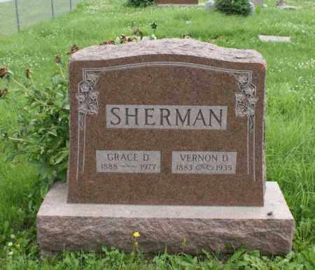 SHERMAN, GRACE D. - Lancaster County, Nebraska | GRACE D. SHERMAN - Nebraska Gravestone Photos
