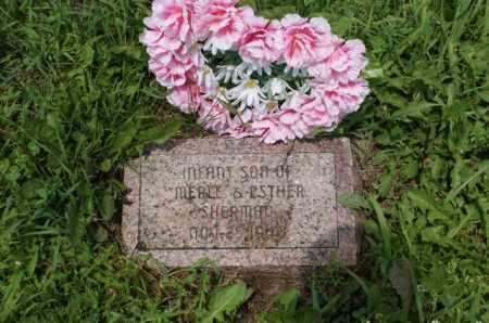 SHERMAN, INFANT SON - Lancaster County, Nebraska   INFANT SON SHERMAN - Nebraska Gravestone Photos