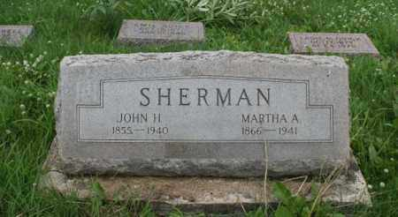 SHERMAN, MARTHA A. - Lancaster County, Nebraska | MARTHA A. SHERMAN - Nebraska Gravestone Photos