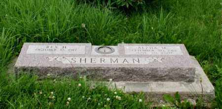 SHERMAN, REX H. - Lancaster County, Nebraska | REX H. SHERMAN - Nebraska Gravestone Photos