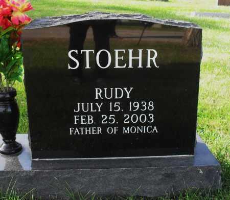 STOEHR, RUDY - Lancaster County, Nebraska | RUDY STOEHR - Nebraska Gravestone Photos