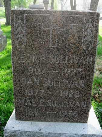 SULLIVAN, DAN - Lancaster County, Nebraska | DAN SULLIVAN - Nebraska Gravestone Photos