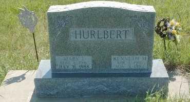 BARNES HURLBERT, MARY  - Loup County, Nebraska | MARY  BARNES HURLBERT - Nebraska Gravestone Photos