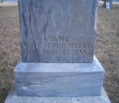 BESST, JANE - Madison County, Nebraska | JANE BESST - Nebraska Gravestone Photos