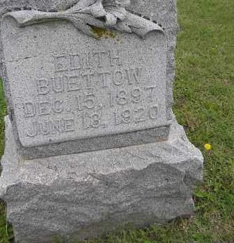 BUETTOW, EDITH - Madison County, Nebraska   EDITH BUETTOW - Nebraska Gravestone Photos