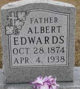 EDWARDS, ALBERT - Madison County, Nebraska | ALBERT EDWARDS - Nebraska Gravestone Photos