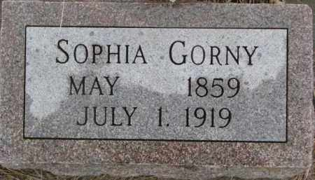 GORNEY, SOPHIA - Madison County, Nebraska | SOPHIA GORNEY - Nebraska Gravestone Photos
