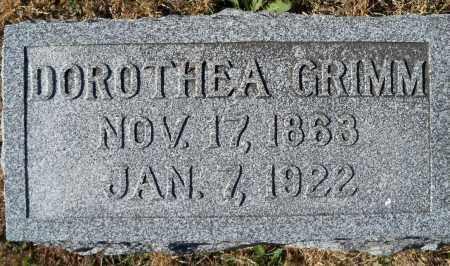 BUCKENDAHL GRIMM, DOROTHEA - Madison County, Nebraska | DOROTHEA BUCKENDAHL GRIMM - Nebraska Gravestone Photos