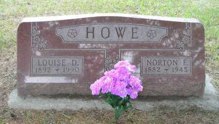 SCHULZ HOWE, NORTON E & LOUISE D - Madison County, Nebraska | NORTON E & LOUISE D SCHULZ HOWE - Nebraska Gravestone Photos