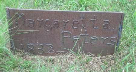 PETERS, MARGARETTE - Madison County, Nebraska | MARGARETTE PETERS - Nebraska Gravestone Photos
