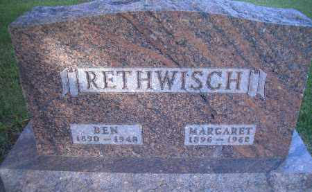 RETHWISCH, MARGARET - Madison County, Nebraska | MARGARET RETHWISCH - Nebraska Gravestone Photos