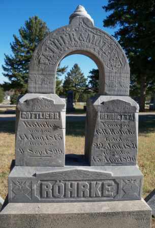 ROHRKE, GOTTLIEB R - Madison County, Nebraska | GOTTLIEB R ROHRKE - Nebraska Gravestone Photos