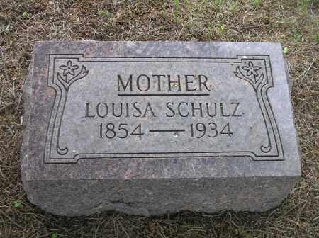 LUCAS SCHULZ, LOUISA AUGUSTA - Madison County, Nebraska   LOUISA AUGUSTA LUCAS SCHULZ - Nebraska Gravestone Photos