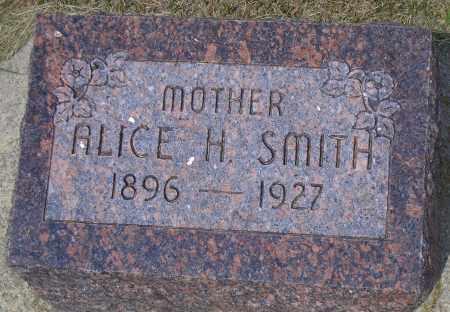 SMITH, ALICE H. - Madison County, Nebraska | ALICE H. SMITH - Nebraska Gravestone Photos