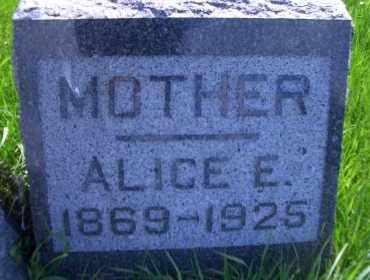 SOUVIGNIER, ALICE. E - Madison County, Nebraska | ALICE. E SOUVIGNIER - Nebraska Gravestone Photos