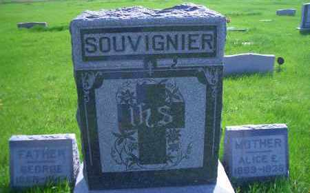 SOUVIGNIER, FAMILY HEADSTONE - Madison County, Nebraska | FAMILY HEADSTONE SOUVIGNIER - Nebraska Gravestone Photos