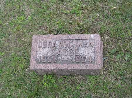 WICHMAN, DORA - Madison County, Nebraska | DORA WICHMAN - Nebraska Gravestone Photos
