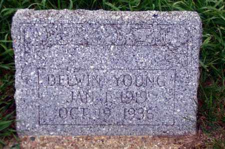 YOUNG, DELWIN - Madison County, Nebraska | DELWIN YOUNG - Nebraska Gravestone Photos