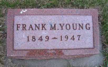 YOUNG, FRANK M - Madison County, Nebraska | FRANK M YOUNG - Nebraska Gravestone Photos