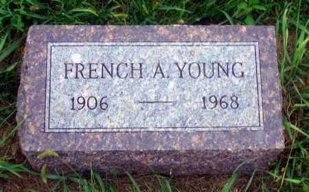 YOUNG, FRENCH A. - Madison County, Nebraska | FRENCH A. YOUNG - Nebraska Gravestone Photos