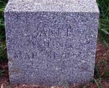 YOUNG, JANET - Madison County, Nebraska   JANET YOUNG - Nebraska Gravestone Photos