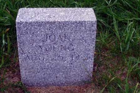 YOUNG, JOAN - Madison County, Nebraska | JOAN YOUNG - Nebraska Gravestone Photos