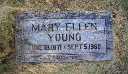 YOUNG, MARY ELLEN - Madison County, Nebraska | MARY ELLEN YOUNG - Nebraska Gravestone Photos