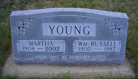YOUNG, MARTHA - Madison County, Nebraska | MARTHA YOUNG - Nebraska Gravestone Photos