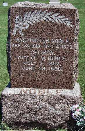 NOBLE, CELINDA - Merrick County, Nebraska | CELINDA NOBLE - Nebraska Gravestone Photos