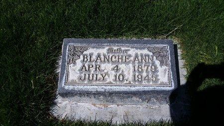 SNIDER VIVIAN, BLANCHE ANN - Morrill County, Nebraska   BLANCHE ANN SNIDER VIVIAN - Nebraska Gravestone Photos