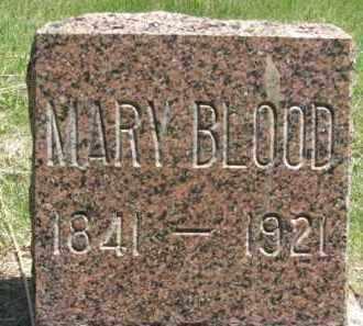 BLOOD, MARY - Nance County, Nebraska | MARY BLOOD - Nebraska Gravestone Photos