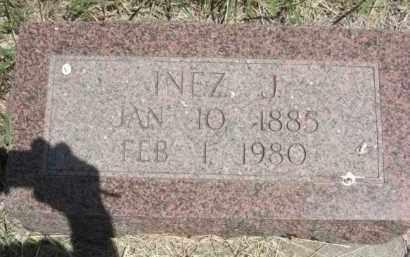 BROWN, INEZ JANE - Nance County, Nebraska | INEZ JANE BROWN - Nebraska Gravestone Photos