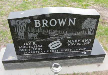 BROWN, JAY R. - Nance County, Nebraska | JAY R. BROWN - Nebraska Gravestone Photos