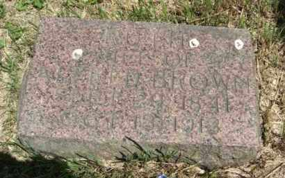 CROWELL BROWN, RUTH P. - Nance County, Nebraska   RUTH P. CROWELL BROWN - Nebraska Gravestone Photos