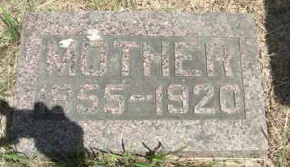 BURKE, (MOTHER) - Nance County, Nebraska | (MOTHER) BURKE - Nebraska Gravestone Photos